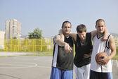 Basketball sport trauma injury — Stock Photo
