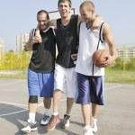 Basketball sport trauma injury — Stock Photo #4350081