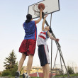 Woman basketball - Stock Photo