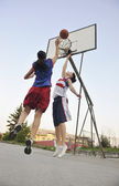 Woman basketball — Stock Photo