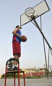 Basketball player — Stock Photo