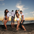 Foto de Stock  : Beach party