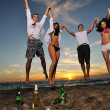 Beach party — Stock Photo #4369110