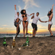 Beach party — Foto de Stock