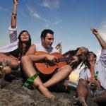 Beach party — Stock Photo #4369287