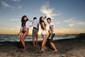 ビーチ パーティー — ストック写真