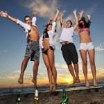 Beach party — Stock Photo #4383066