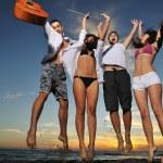 Beach party — Stock Photo #4383084