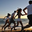 Beach party — Stock Photo #4384167