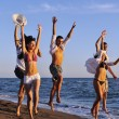 Beach party — Stock Photo #4384653