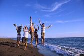 Beach party — Stockfoto