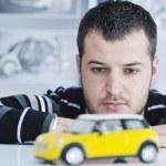Genç otomobil tasarımcısı — Stok fotoğraf