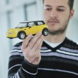 Young car designer — Foto Stock