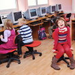 It education with children in school — Stock Photo #4399698
