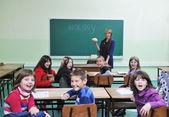 Learn biology in school — Fotografia Stock