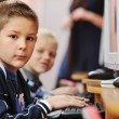 It education with children in school — Stock Photo #4400063