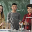 Royalty-Free Stock Photo: Science and chemistry classees at school