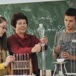 Science and chemistry classees at school — Stock Photo #4400316
