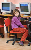 It education with children in school — Stock Photo