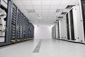 Network server room — Stock Photo