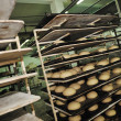 Stock Photo: Bread factory production
