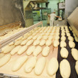 Bread factory production - Stockfoto