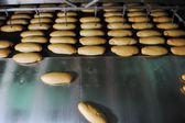 Production de l'usine de pain — Photo
