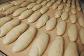 Bread factory production — Stock Photo