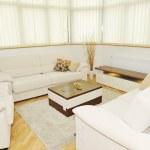 Modern livingroom indoor — Stock Photo #4563190