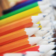 Stock Photo: Wooden colored pencil