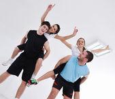 Allenamento fitness uomo — Foto Stock