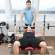 Man fitness workout — Stock Photo #4786536