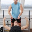 Man fitness workout - Stock Photo