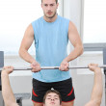 Man fitness workout — Stock Photo #4786584
