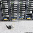 Network server room - Stock Photo