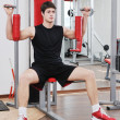 Man fitness workout — Stock Photo