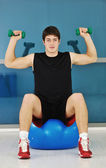Man fitness workout — Stock Photo