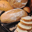 Fresh bread food group — Stock Photo #4865031