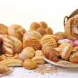 Fresh bread food group — Stockfoto