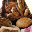 Fresh bread food group — Stock Photo #4869478