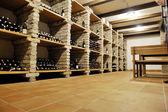 Vine bottles — Stock Photo