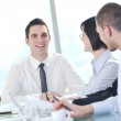 Group of business at meeting — Stock Photo #5196347