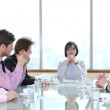 Group of business at meeting — Stock Photo #5196445