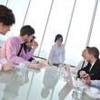 Group of business at meeting — Stock Photo #5196466