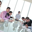 Group of business at meeting — Stock Photo #5196472