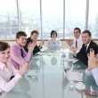 Group of business at meeting — Stock Photo #5196567