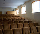 Filas de asientos vacíos — Foto de Stock