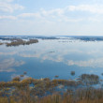 vatten pittoreska landskap — Stockfoto