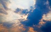 Dramatic sunset — Stockfoto