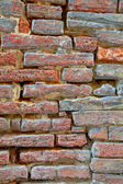 High resolution red brick wall — Stock Photo
